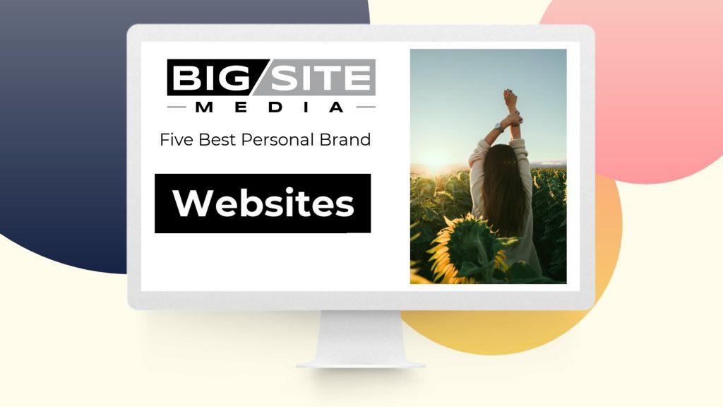 Five personal brand websites