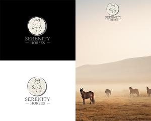 Serenity Horses logo
