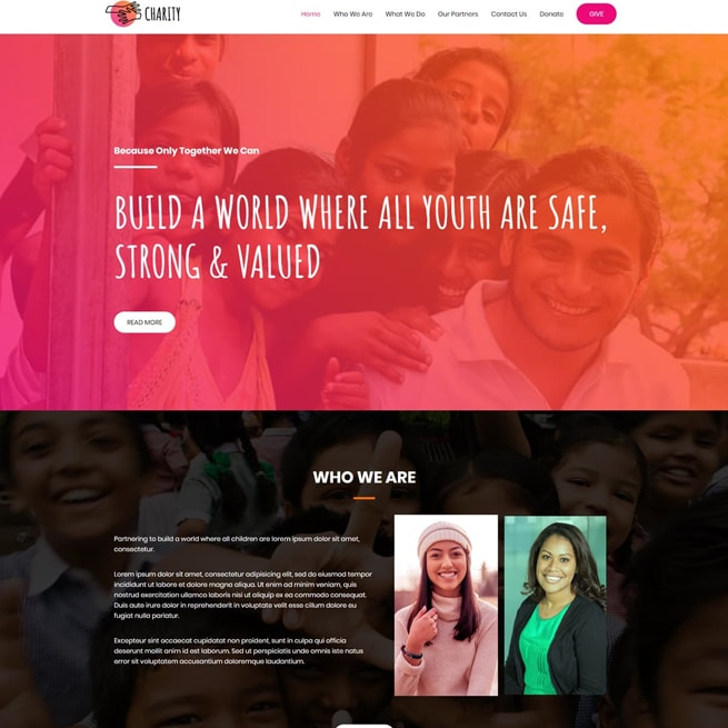template-non-profit